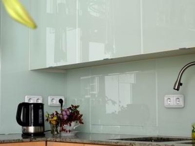 Wasserabweisende Glasfront