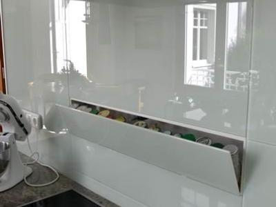 Küchenschränke Glasfront